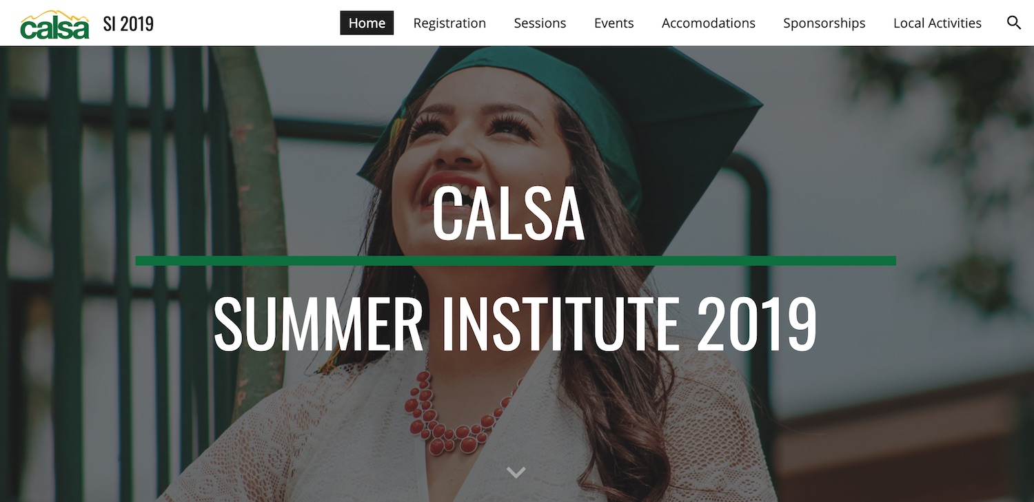 Join Levered at CALSA Summer Institute!