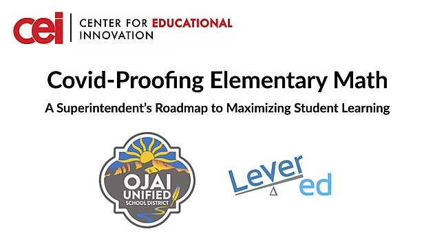 Covid-Proofing Elementary Math
